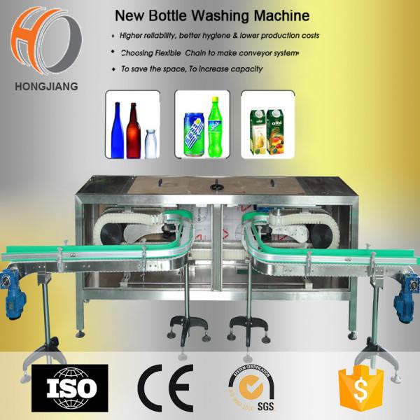 Lavadora y transportador automotrices de la botella de cristal de la industria