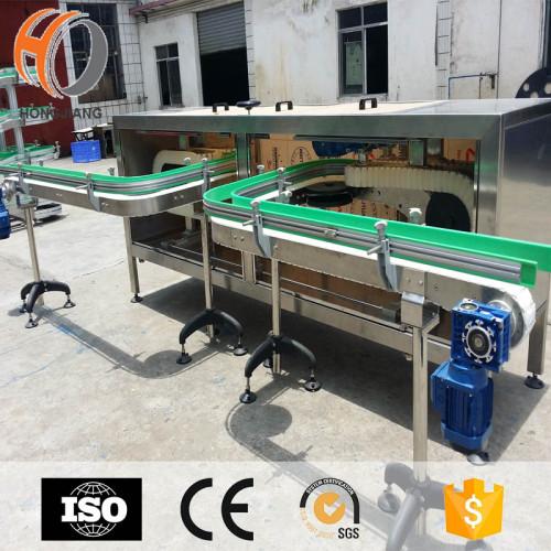 Automative industry glass bottle washing machine and conveyor