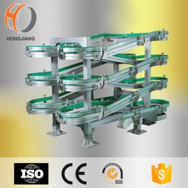 Diseño de transportadores de cadena modular Flexlink, transportador espiral flexlink
