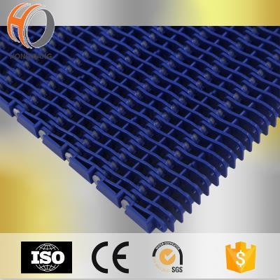 H900 Plástico Levantado Rib / Flat top / Flush Grid Modular Belts