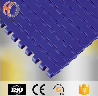 H1100 cintas transportadoras modulares planas planas de plástico