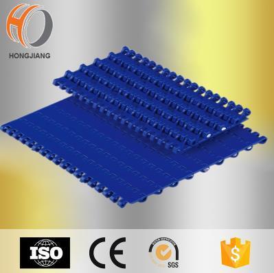 Correias transportadoras modulares planas de plástico H1100