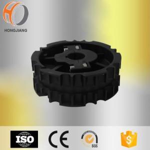 Uso rachado moldado injeção plástica da roda dentada para a corrente transportadora de 820 sistemas