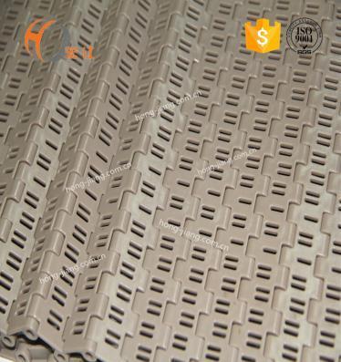 POM Cinturones de plástico modulares Solid Top flush grid 5936 para equipos de transmisión activos módulos de transferencia transportadores de cadenas