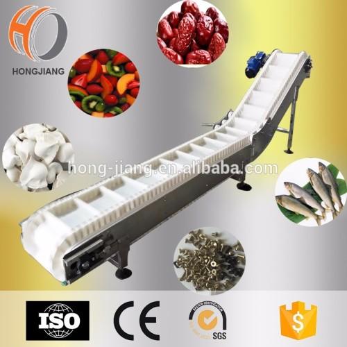 Наклонный ленточный конвейер, Конвейер для наклона ленты для пищевой упаковки