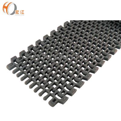 H610 POM حزام ناقل بلاستيك نمطي ذو درجة حرارية السعر 25.4 width152