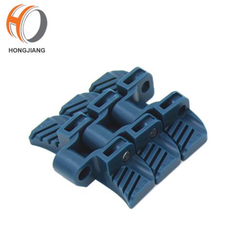 H1060 الغذاء الصف مادة PP حزام مسطح أعلى من البلاستيك وحدات لآلة الناقل