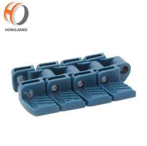 H1060 Food grade PP material flat top plastic modular belt for conveyor machine