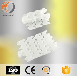 Branco plástico flexionando transportador de dente de bebida chains1770 70 820