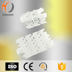 White Plastic flexing beverage tooth conveyor chains1770 70 820