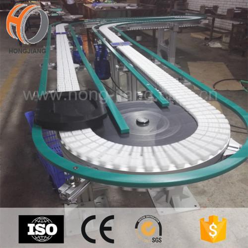 Rodillo flexible accesorio Transportador de paletas movimiento rápido de carga paletizada