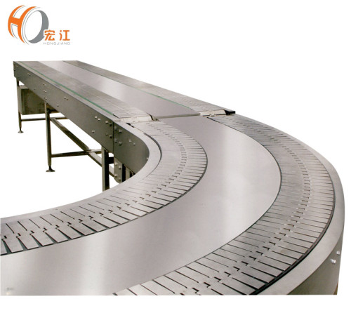 مزدوجة القناة 90 درجة البلاستيك المقاوم للصدأ منحني الجدول الأعلى سلسلة الناقلون الجدول الأعلى المصنعين سلسلة الناقل