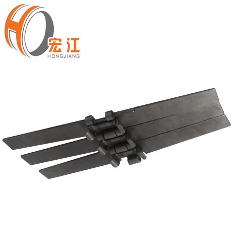 مقاومة للحرارة الفولاذ المقاوم للصدأ الدهون أعلى سلسلة الناقل للحصول على أعلى سلسلة الدهون أعلى