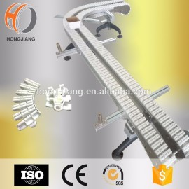 Food Medical industry low friction chain conveyor with roller beads