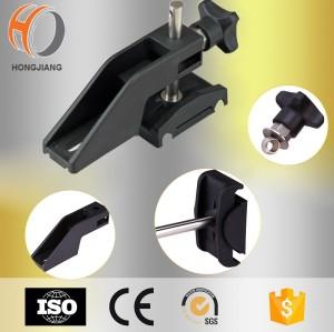 Componentes del transportador del soporte lateral plástico del transportador ajustable para la venta