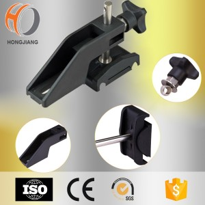Conveyor components of adjustable conveyor plastic side bracket for sale