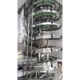 Screw Conveyor Type and System Structure food beverage assembly line