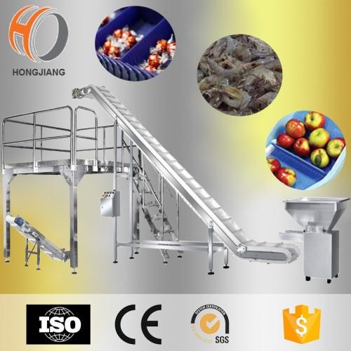 الغذاء الصف قابل للتعديل ارتفاع الحزام المصعد الناقل