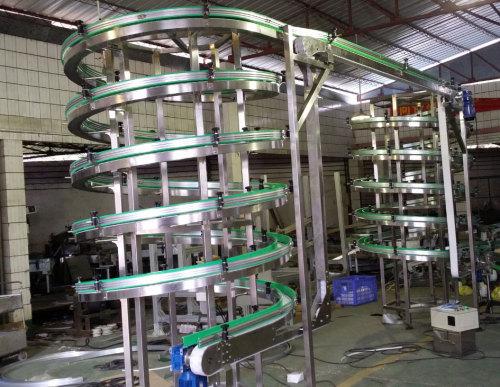 Устройстве спирального конвейера приемка зерна на элеваторы
