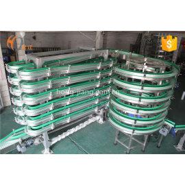 El sistema transportador de almacenamiento intercambiable de la plataforma flexible buffer