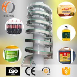 sistema espiral del transportador de tornillo del transportador del cartón de la botella de agua