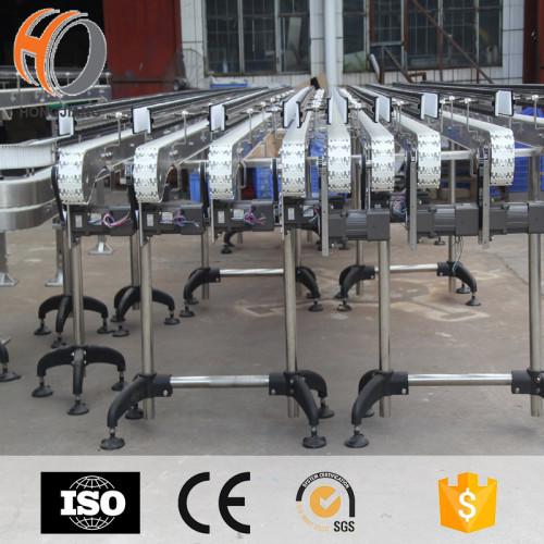 أنظمة حزام ناقل سلسلة مرنة PP المضادة للتآكل لنقل البطارية