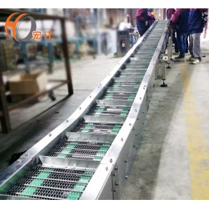 Stainless steel wire mesh belts conveyor