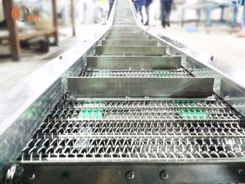 أحزمة شبكة أسلاك الفولاذ المقاوم للصدأ ناقل