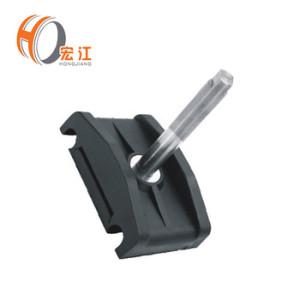 Braçadeira do trilho de guia do transporte H71 para as braçadeiras dobro plásticas da tubulação / braçadeiras dobro do tubo