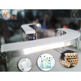 Curve POM modular belt conveyor for sale