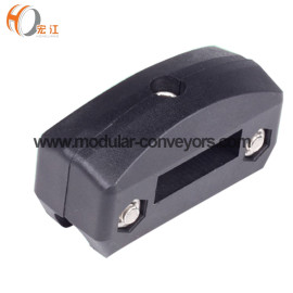 H159-12 poly round pipe clamp H437-12 poly square pipe guide rail clamp adjustable