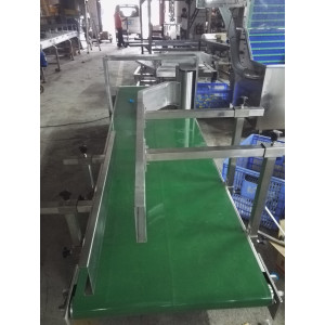 Assembly-line for Feedbag powder bags transmission