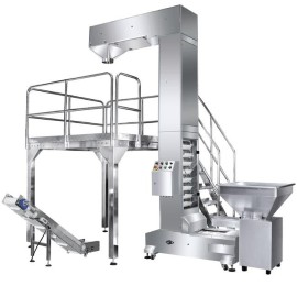 automatic z type bucket conveyor Z conveyor bucket elevator chain conveyor machine hopper bucket elevator