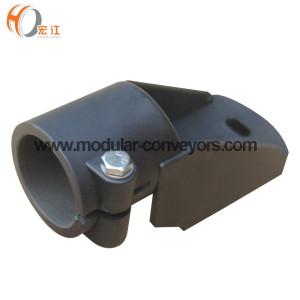 H199 Suportes de trilho de guia lateral ajustável de plástico
