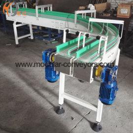 Corner Plastic Modular Belt conveyor