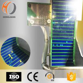 Tapa de plástico elevador de aire / transportador clasificador de tapa