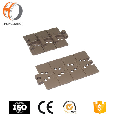 H820 Vaccum Plastic Flat Top Staight running Conveyor Chain