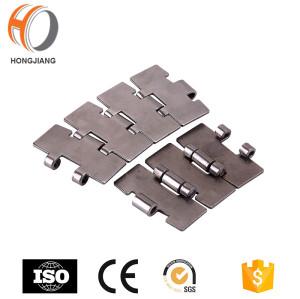 Cadeia transportadora de corrida reta de aço inoxidável HS815