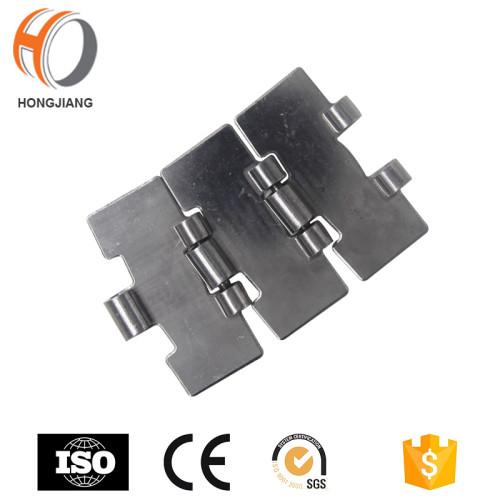 HS815 الفولاذ المقاوم للصدأ Slat مستقيم سير متحرك سلسلة