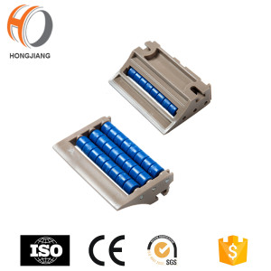 H567 Conveyor Machine Transfer Plate Plastic Roller Transition Chain