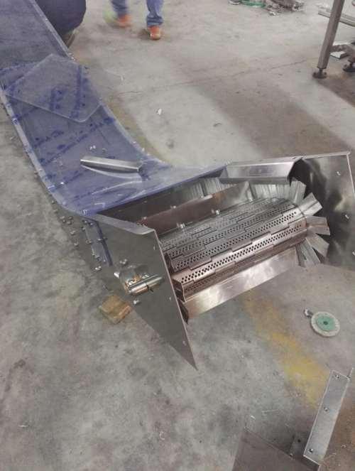 цепной конвейер с цепью из нержавеющей стали