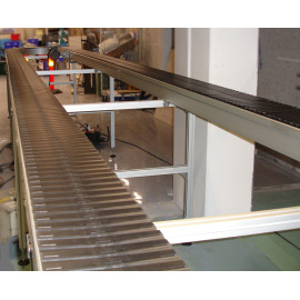 modular plastic chain conveyor belt manufacturers for factory warehouse processing
