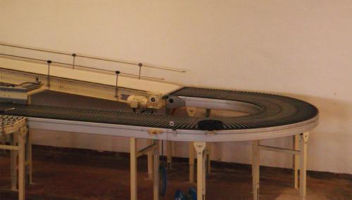 fabricantes modulares de cinta transportadora de cadena plástica para el procesamiento de almacén de fábrica