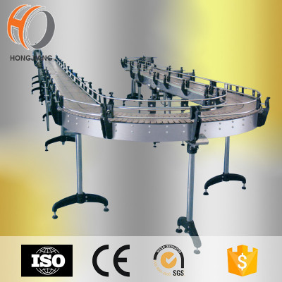 plastic chain conveyor belt automation line