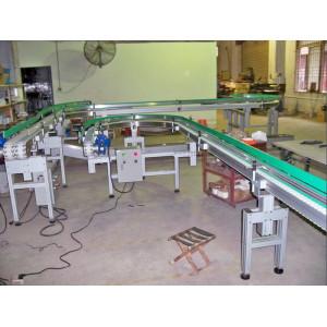 Sistema di trasporto flessibile in plastica per movimentazione materiali