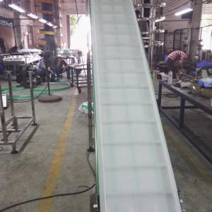 Elevador de processamento vegetal da correia modular H1300