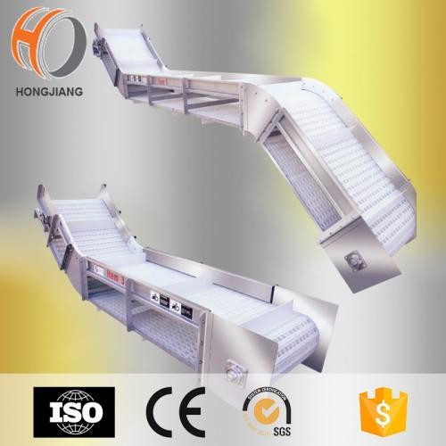 cinta transportadora para la carne que procesa el transportador de elevación del cubo