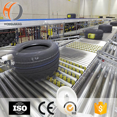 Roller Tire conveyor, Belt tire conveyor system for tire industry