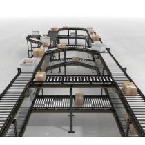 roller conveyor pipe conveyor rollers system Logistics conveying equipment
