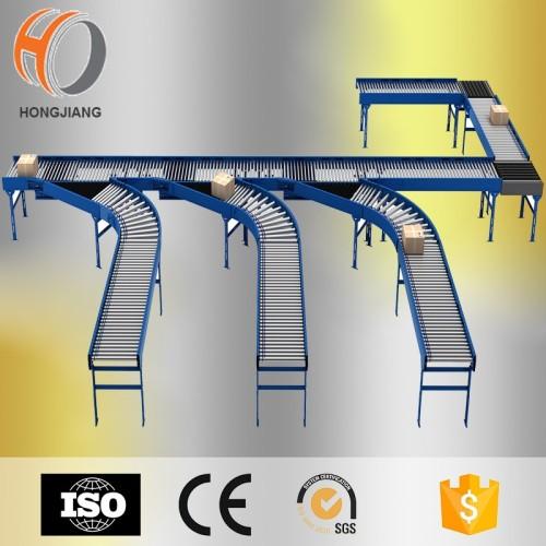الفولاذ المقاوم للصدأ الأسطوانة ناقل نظام الثقيلة الناقل